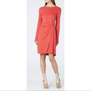 BCBGMAXAZRIA Red 'Roxie' Long Sleeve Dress S